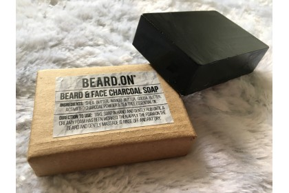 Beard.On® Beard & Face Charcoal Soap